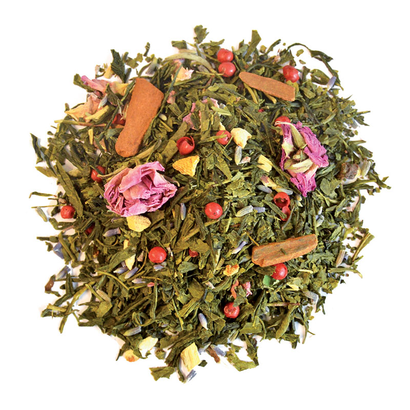 Thé Tisane Infusion vert orange cannelle