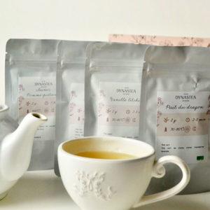 Coffret thé tisane à l'unité
