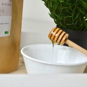 Cuillère à miel en bois écologique et responsable