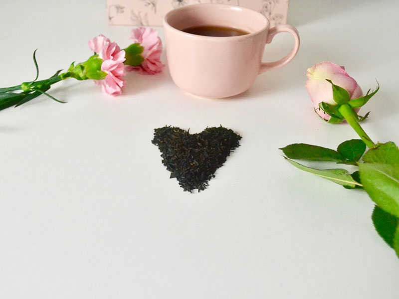 Le thé des amoureux pour la Saint Valentin