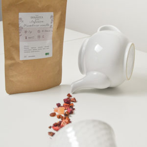 Thé Tisane Infusion Framboise vanille
